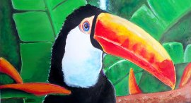 Tropical Birds and Wildlife Art Prints